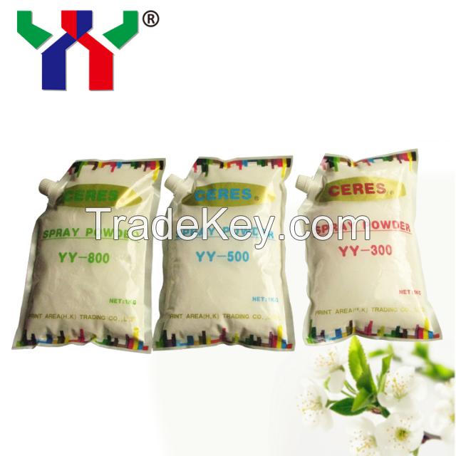 ceres YY-800 spray powder anti-dirty, fast drying spray powder