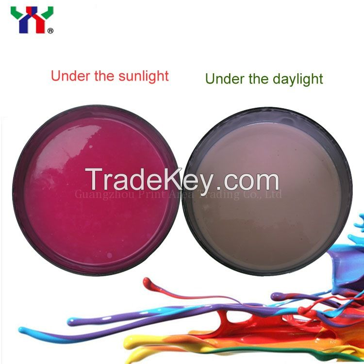 Screen Printing  Solar Discoloration Ink