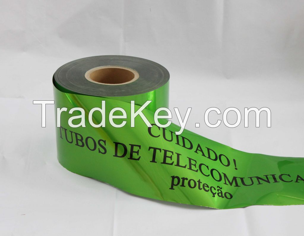 AL Foil Detectable Underground Warning Tape for Underground Use