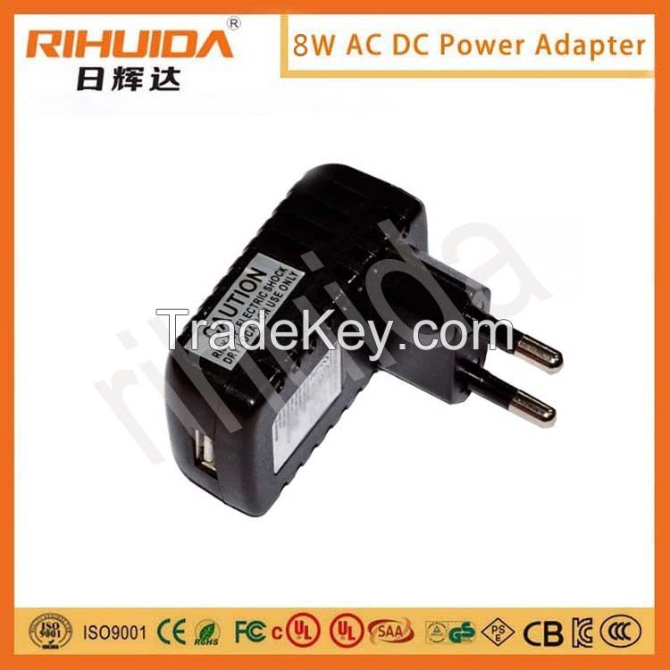 5V 1A/12V 1A/12V 2A/5V 2AGS/CE/BS/UL/SAA etc certificate adaptor/power supply