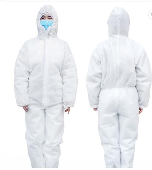 CE FDA safety disposable protection clothing coveralls