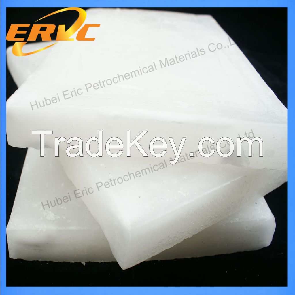 Factory supply 52/54 Semi Refined paraffin wax for candle
