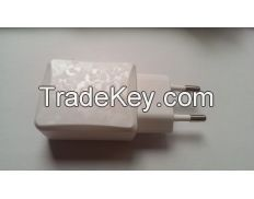 USB Power Adapter Euro Type 5V 2A with Texture Design