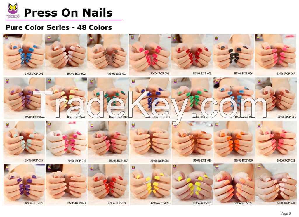 No glue needed press on nails