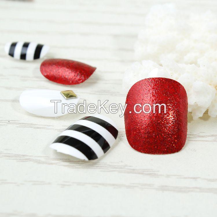 Kiss press on nail tips for salon