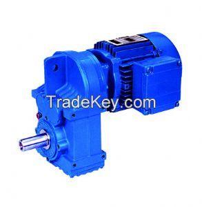 F37 Helical Geared Motor/gearbox/gear Box/speed Reducer