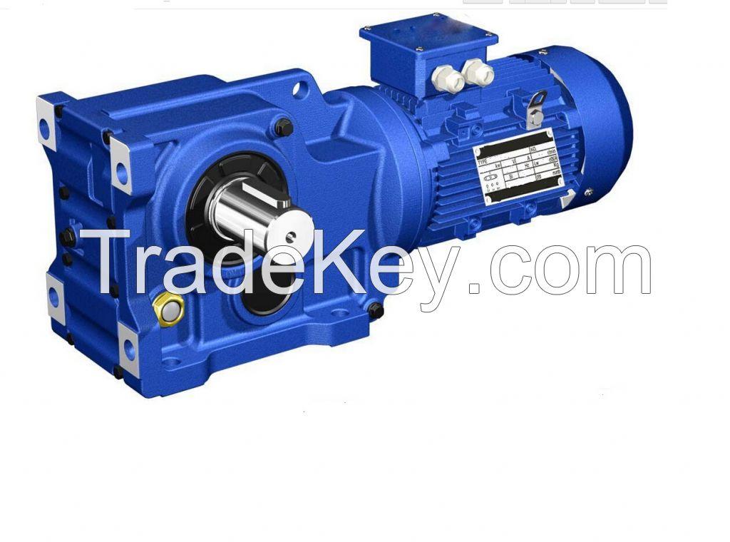 K37 Helical Geared Motor/gearbox/gear Box/speed Reducer