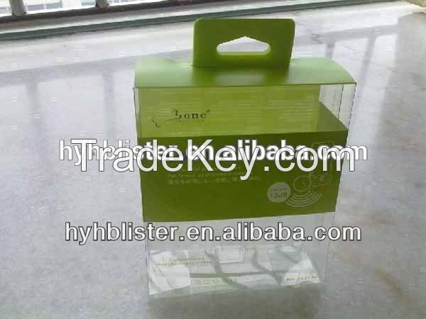 New design PP PET PVC box