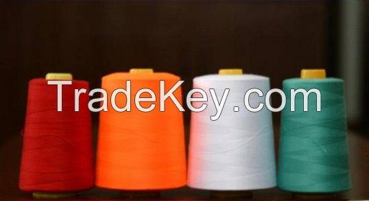 100% Spun Polyester Sewing Thread 40/2 5000m