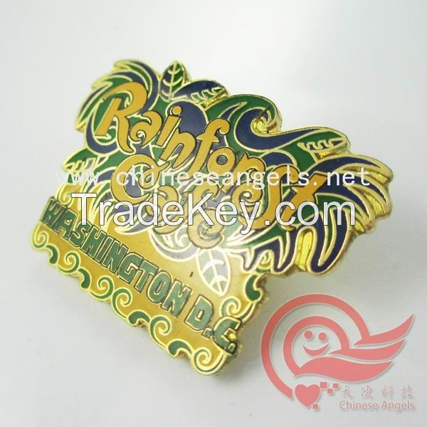 metal enamel badge,enamel emblems for Lion Club