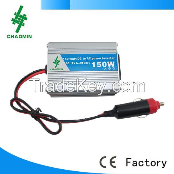 Hot! 150w DC12V/24V to AC110V/220v car inverter