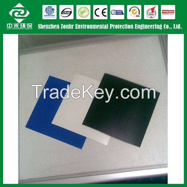 Geomembrane of HDPE/LLDPE/LDPE/PVC/EVA material;Pond Liner Geomembrane
