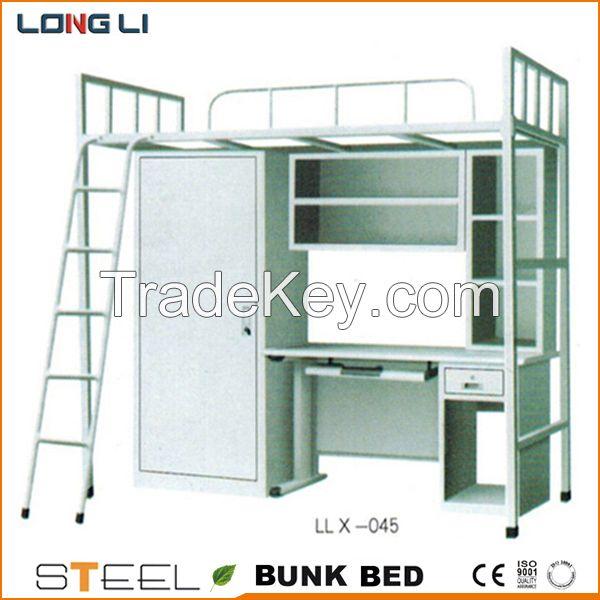 School/home/army/military dorm steel metal bunk beds