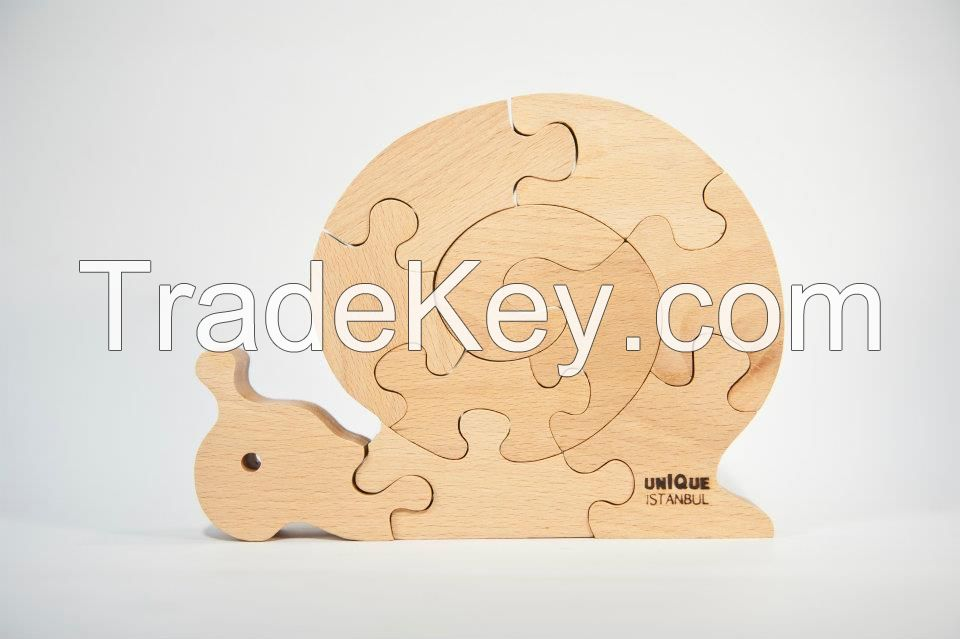 Wooden Puzzles / Animal Series