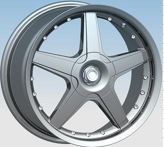 alloy wheel / rim