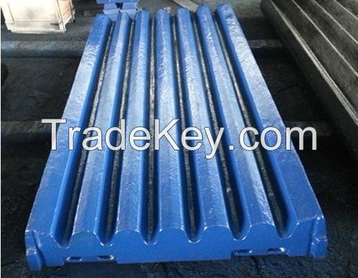 Jaw Plate - High Manganse Ware Parts - Jaw Crusher Parts - Mining Machine