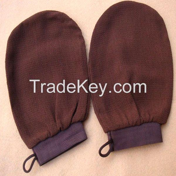 morocco hammam scrub mitt magic peeling glove exfoliating