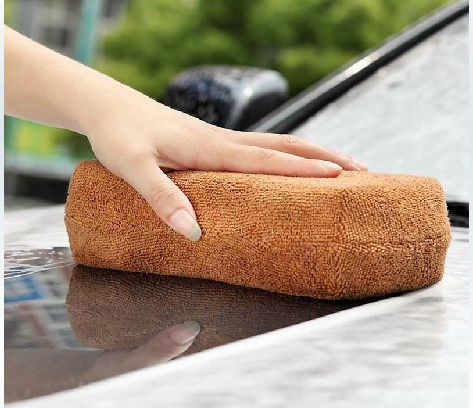 Microfiber Car Cleaning Wash Sponge ( High quality )