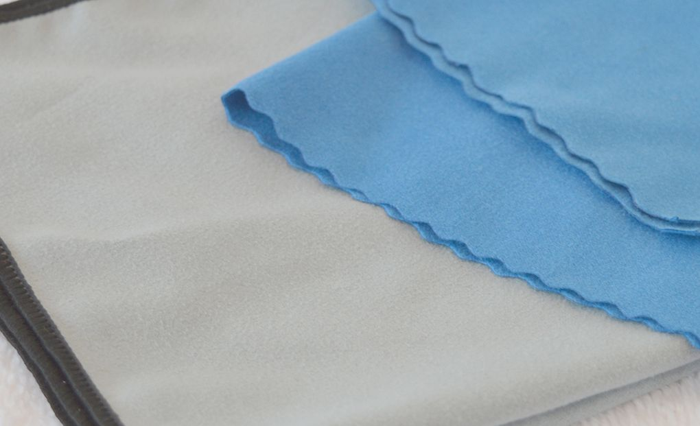 Professional microfiber super fine suede microfiber polishing cleaning cloth