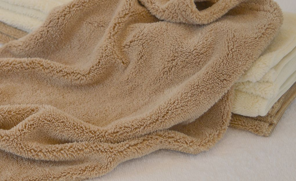 Microfiber Soft Fluffy Fleece Coral Cloth Towel