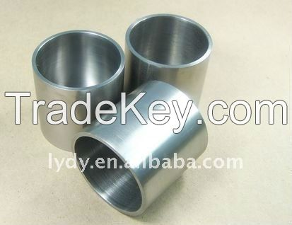 high quality 99.95%pure tungsten crucible boat container in factory p