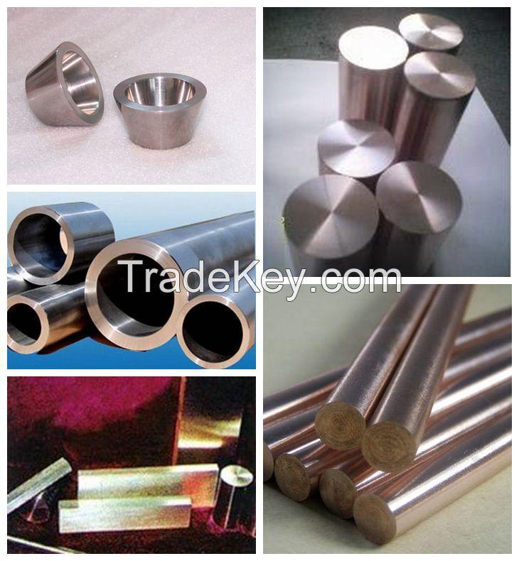 DY High quality tungsten copper W-Cu alloys