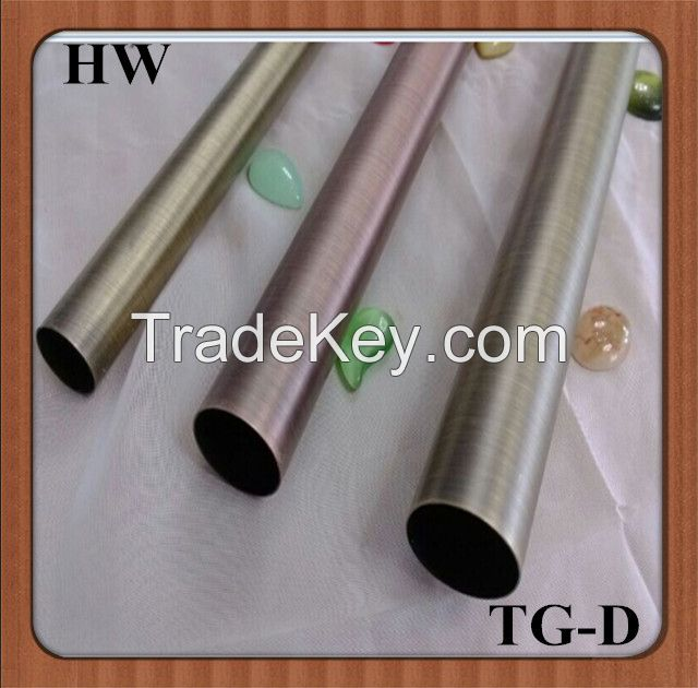2014Best Sales Home Decoration or Construction Iron Curtain Poles TG-D