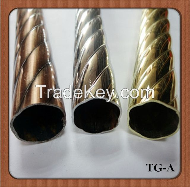 2014Best Sales Home Decoration or Construction Iron Curtain Poles TG-A