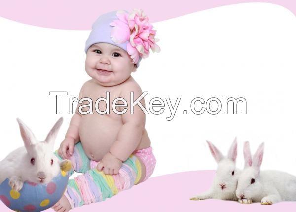 Lavender Cotton Hats