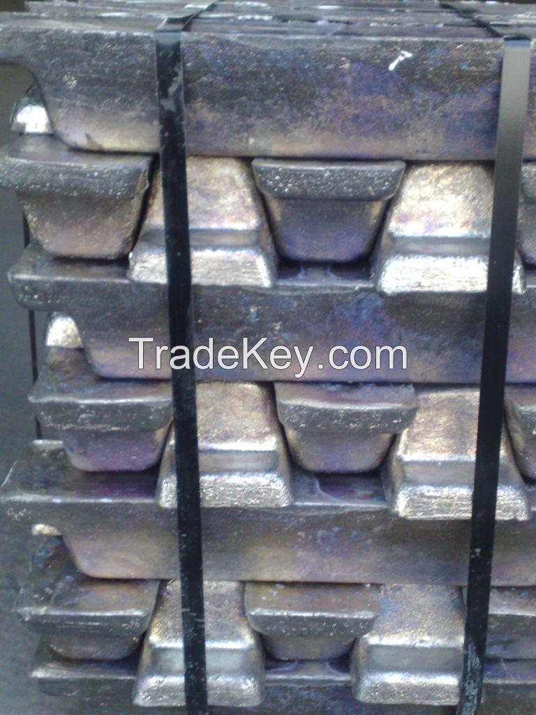 Pure lead ingot.Remelted Lead ingot,Antimony Lead ingot