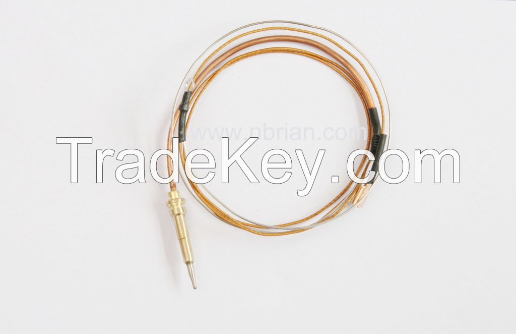 Gas stove/oven safety magnet valve and thermocouple