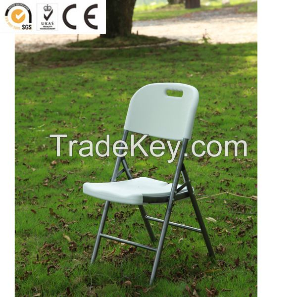 HDPE blow molding plastic folding chair wholesale made in China