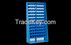 Stacking and stroge bin stands