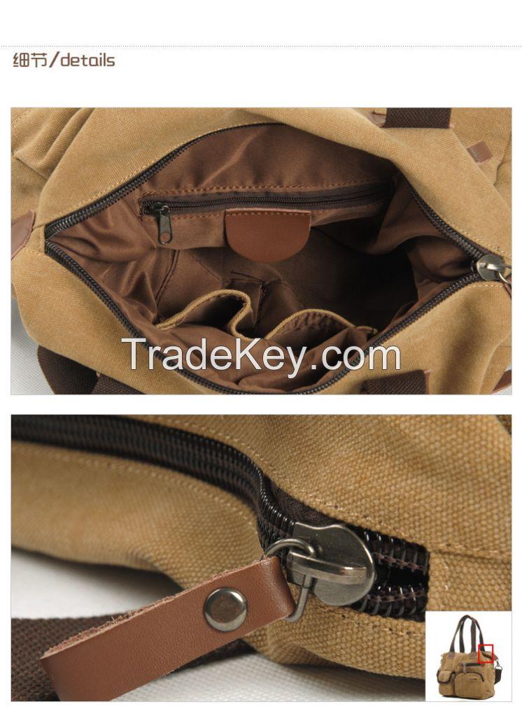 unisex fashionable canvas handbags
