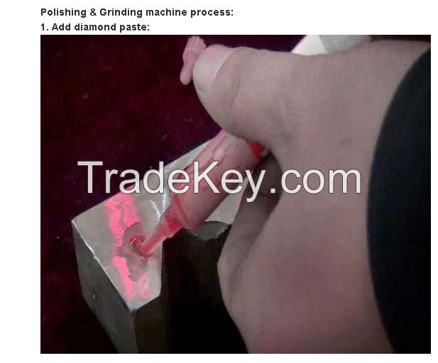SZ-100 Ultrasonic mold grinding machine, metal polish device