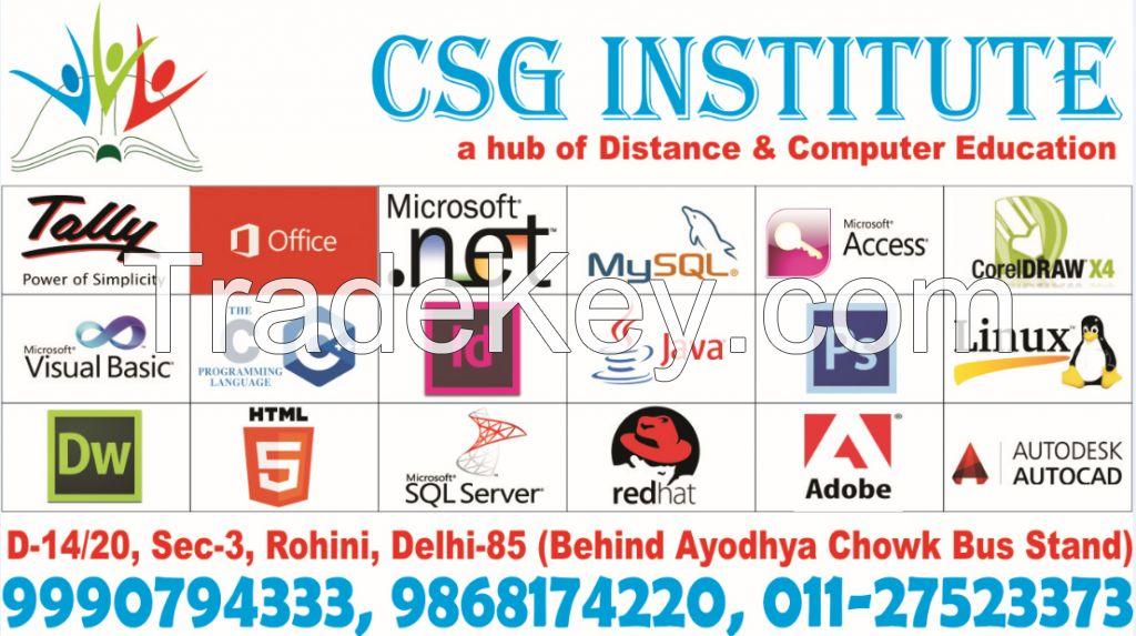 CSG Institute - Admission Consultant, Computer Training