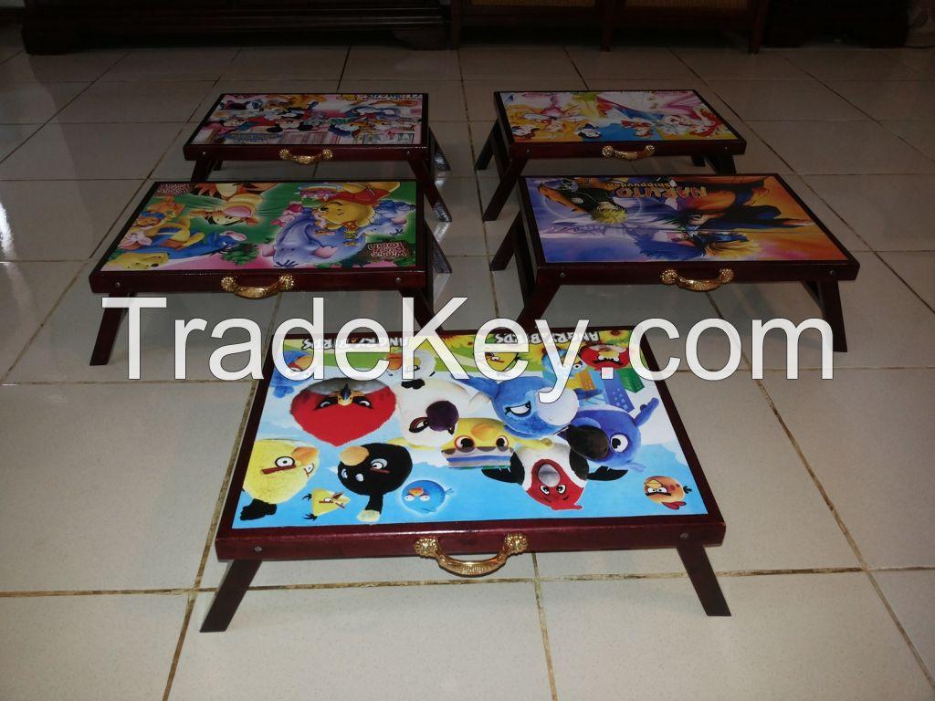 Wooden Kindergarten Folding Desk