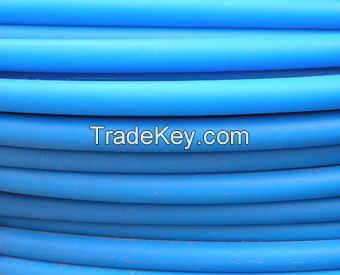Polyethylene service water pipes