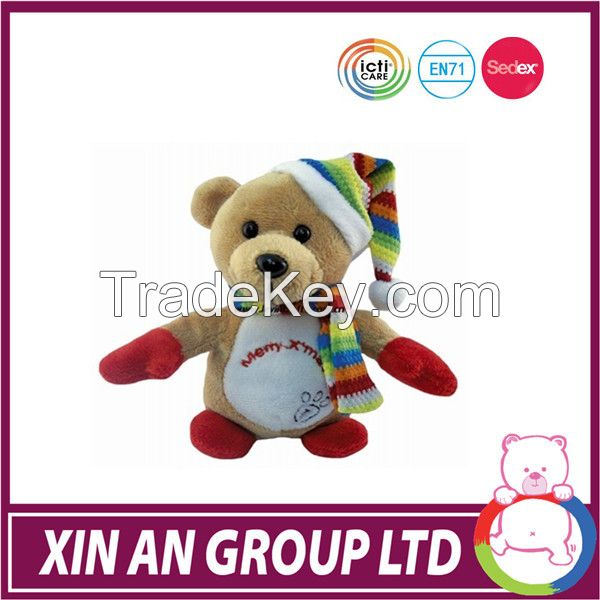 High quality good feeling plush christmas toy
