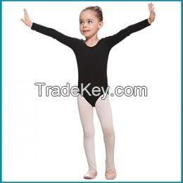 long sleeve lycra leotard for girls