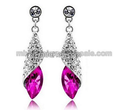 High Quality Gemstone Fashion Dangle Earrings