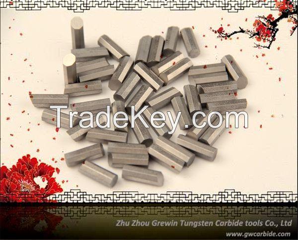 Tungsten carbide mining insert, mining button insert
