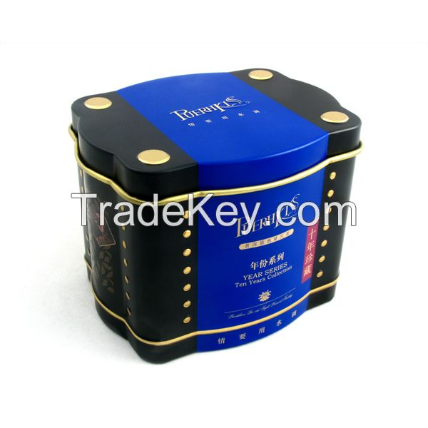 hot-selling airtight tea tin container box