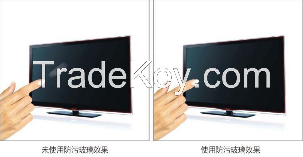 Anti fingerprint glass/AF glass for cellphone screen protector