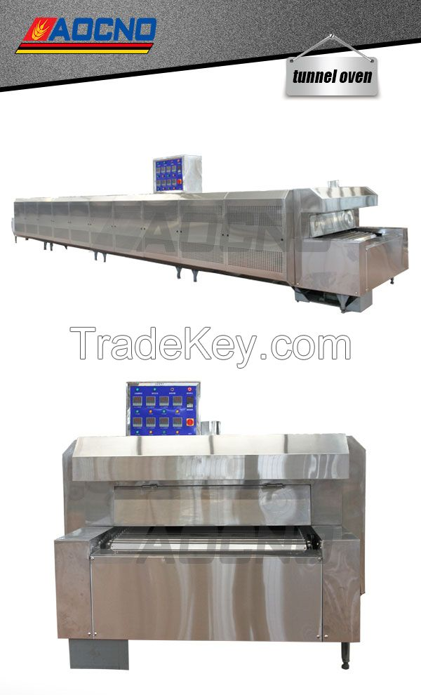 Bread Baking Equipment Tunnel Oven