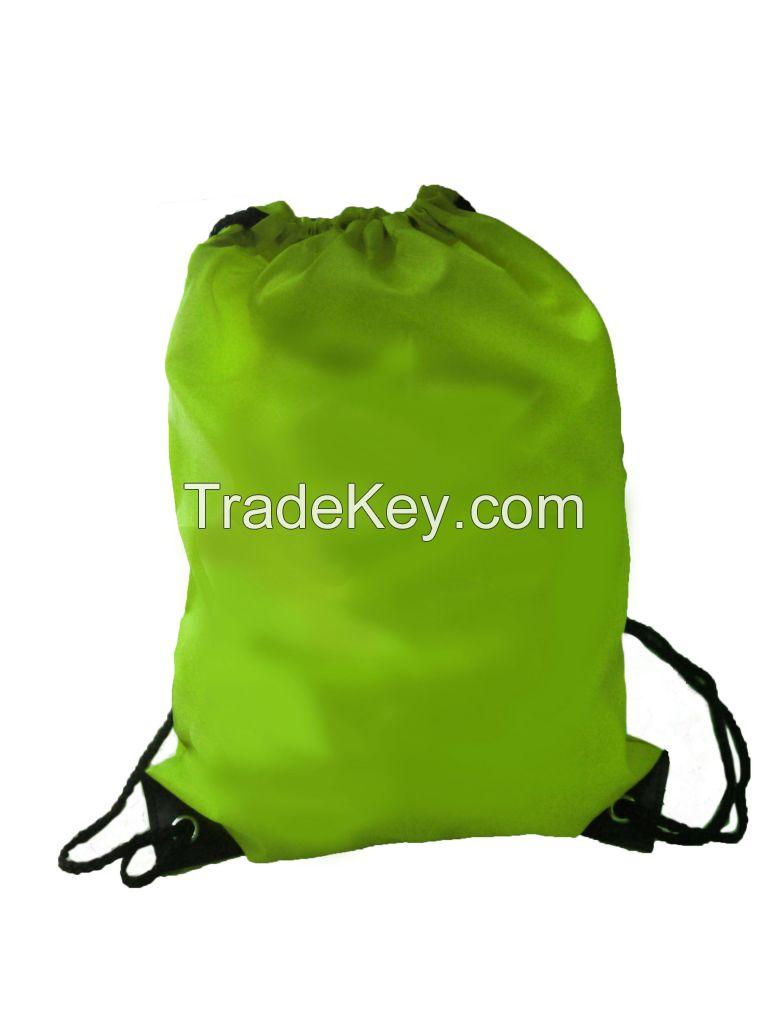 Drawstring Bag Backpack Promotional 210D Nylon Bag
