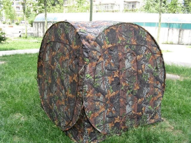 camouflage hunting blind tent