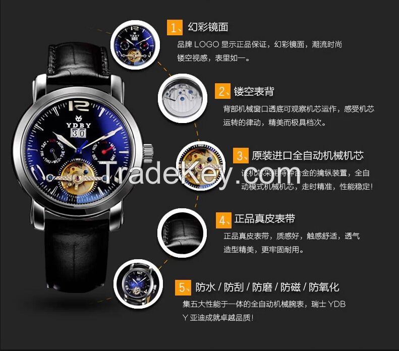 new style Automatic watch mens watch
