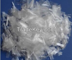 12mm 18 mm raw white high tenacity pp fiber