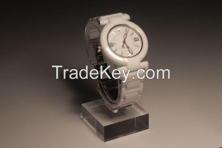 Acrylic Jewelry Bracelet Watch Stand Watch Display Rack Holder Stand